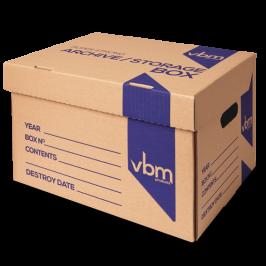 Archive box - generic print