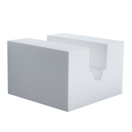 LCD Styrene Block Insert- V Cut