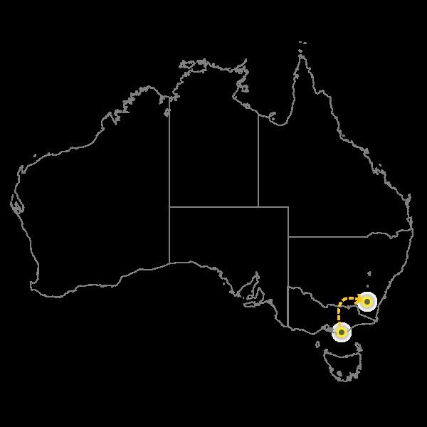 Melbourne - Canberra