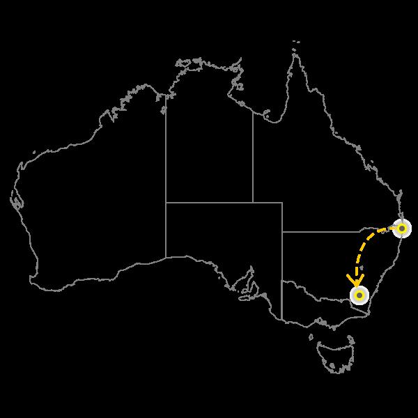 Brisbane - Canberra