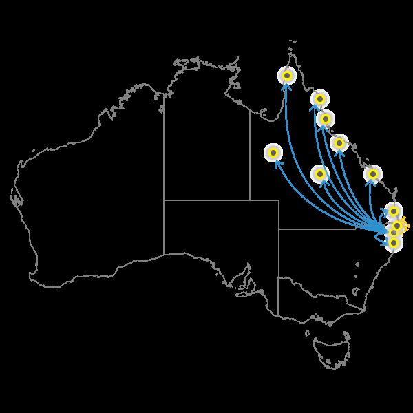 Gold Coast - Brisbane