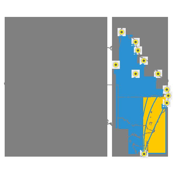 Tasmania to Brisbane