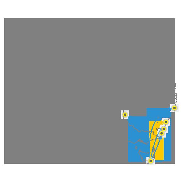 Tasmania to Sydney