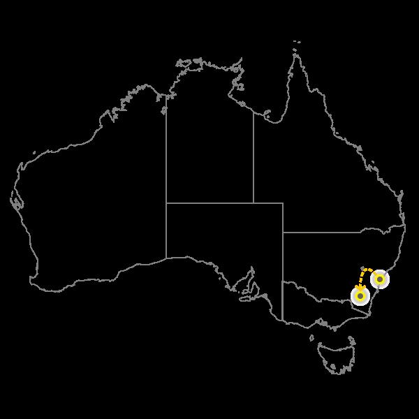 Sydney - Canberra