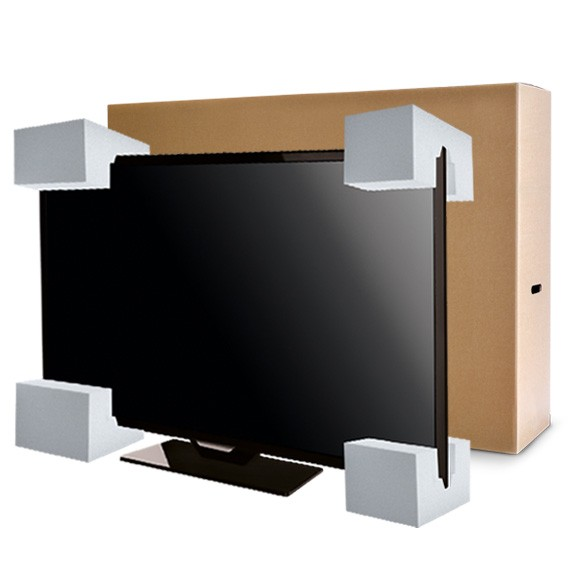 "LCD LGE 55"" with inserts & Strap"