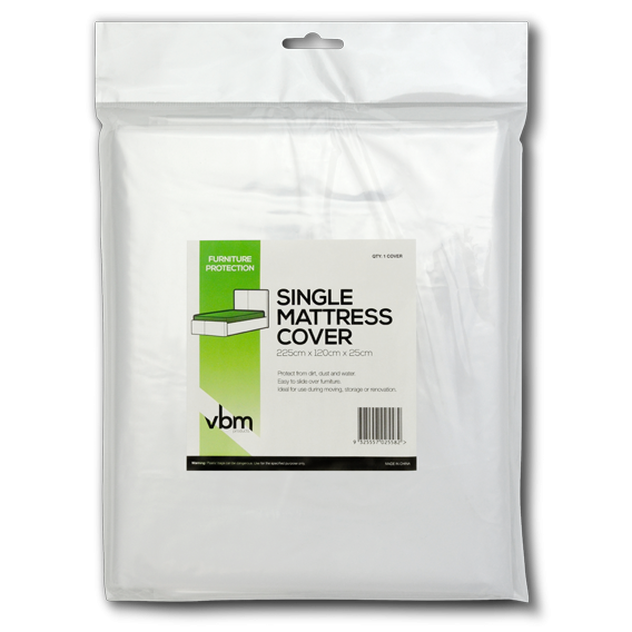 Mattress Cover - Single - Individual Pack