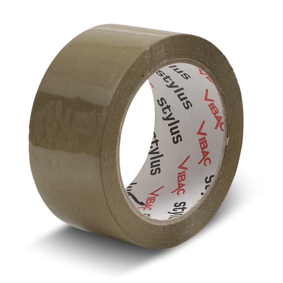 48mm x 75m Vibac Tape - Brown