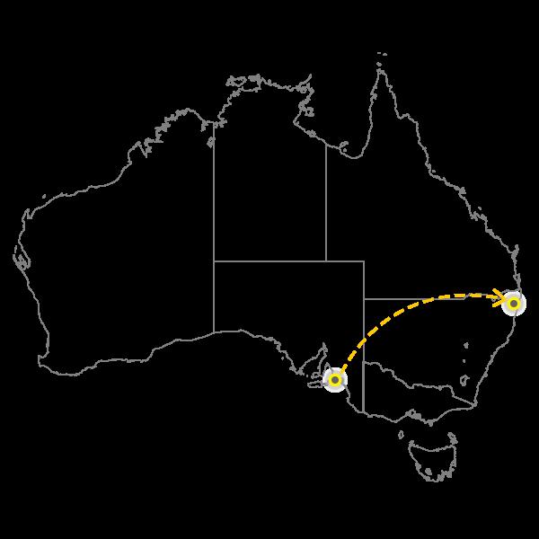 Backloading adelaide to Gold Coast