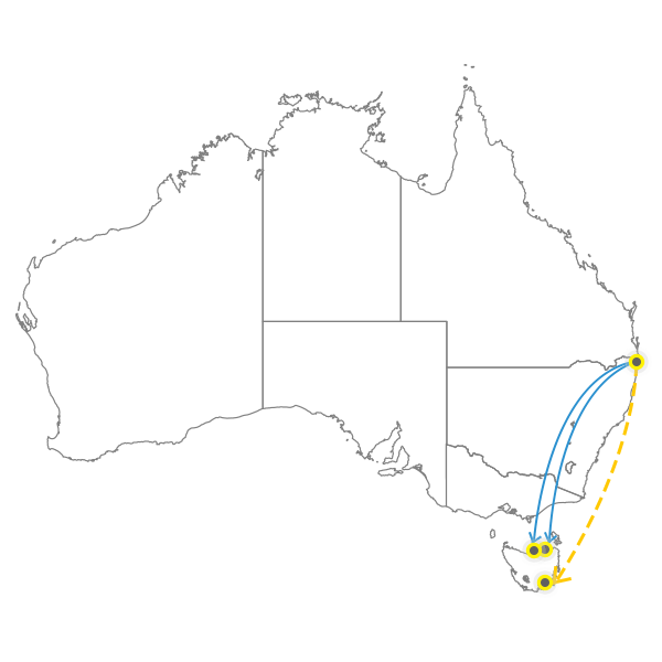 brisbane-to-hobart