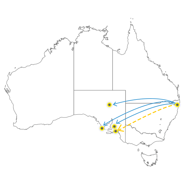 gold-coast-to-adelaide
