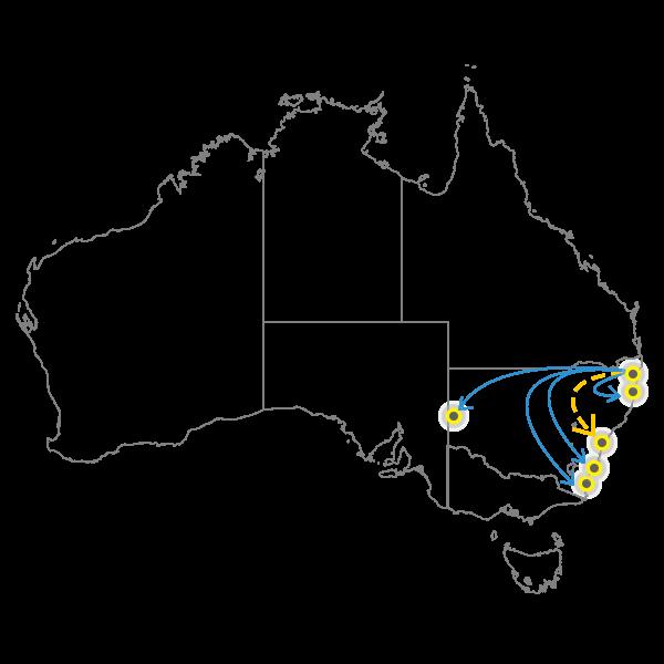 Backloading gold coast to sydney
