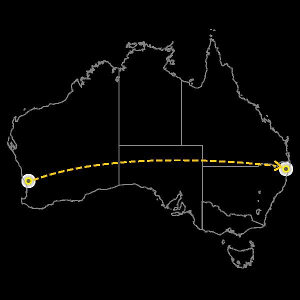 Backloading Perth to Gold Coast
