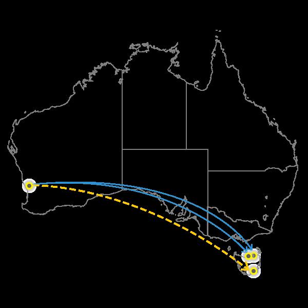 Perth - Tasmania