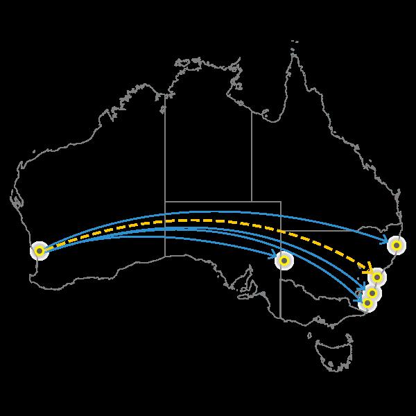 Perth - Sydney