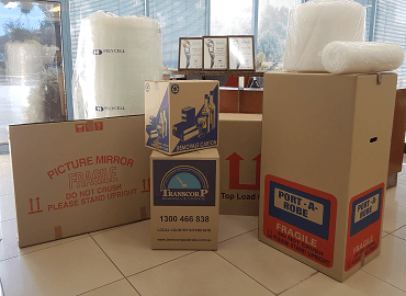 Storage Boxes & Materials