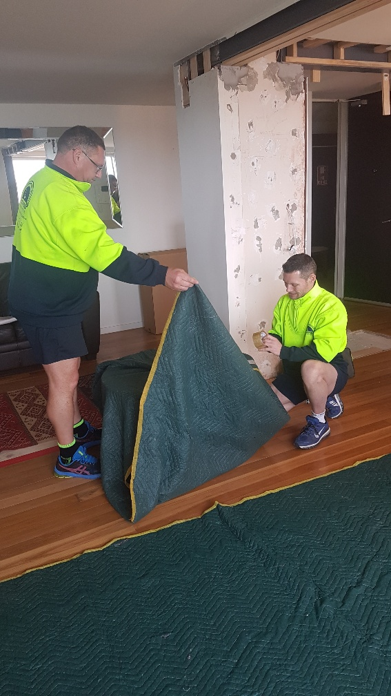 Melbourne Removalists - Safely Packing Furniture Items during a renovation