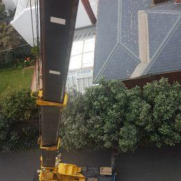 Melbourne Removalists - Crane Loading 7th Floor