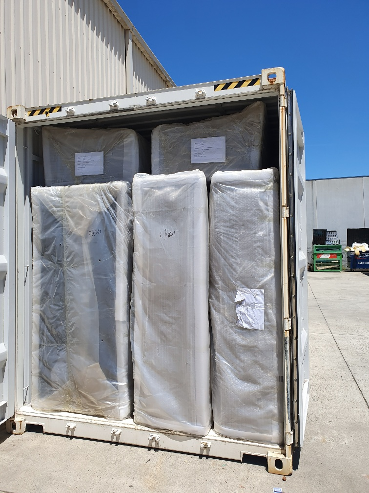 New Furniture - Interstate Transport - 20ft Containers