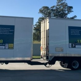 Interstate Removalists Truck