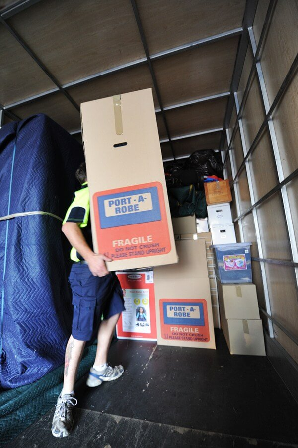 Careful packing and moving of valuables