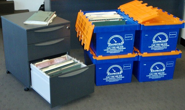 Our office crates make an office moves efficient