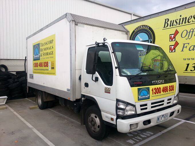 Small Removal Truck for Hard Accesses