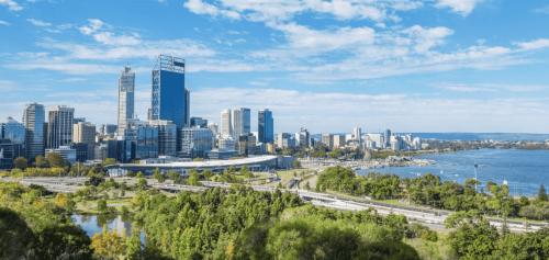 Perth CBD skyline
